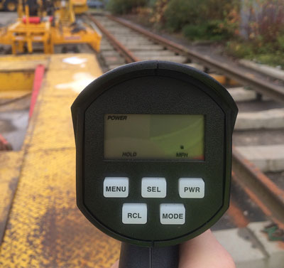 RHHR (Railmaster) speed gun