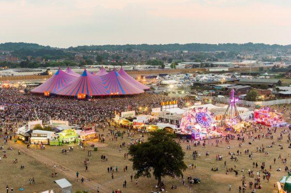 Portable CCTV at festivals and events