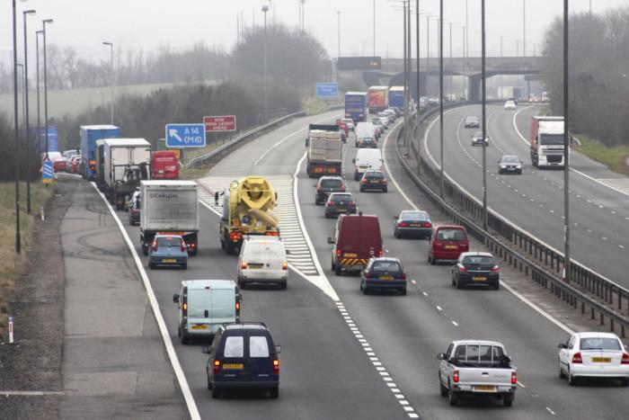 Portable CCTV on highways